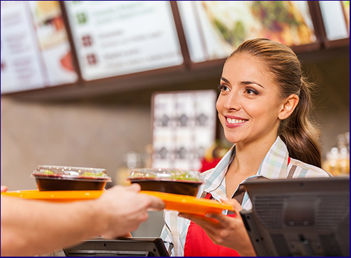 Fast Food Sales Assistant